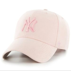 47 New York Yankees Adjustable Relaxed Pink Cap